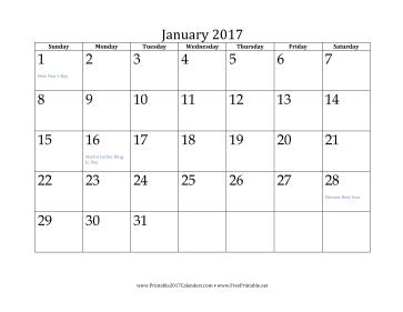 Calendar 2017 October To December Printable