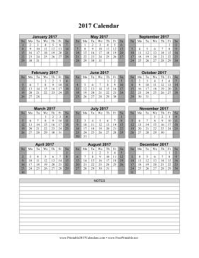 2016 Printable Calendar By Month Vertical | Calendar Template 2016
